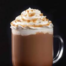 Starbucks Salted Caramel Hot Chocolate -- the most delicious drink ever