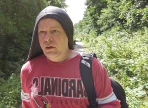 The Land Manatee, Sean Layton, hiking