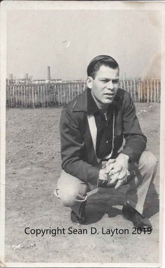 My dad Donis M. Layton looking stylish in the 50s
