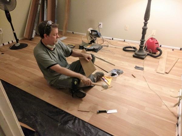 installing luxury vinyl planks