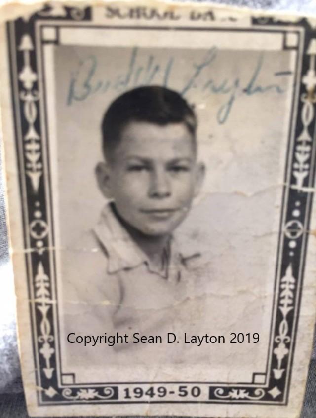 Donis M. Layton in junior high