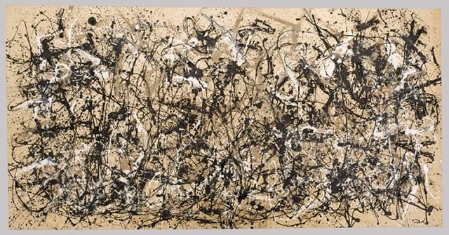 Jackson Pollock Autumn Rhythm (Number 30)