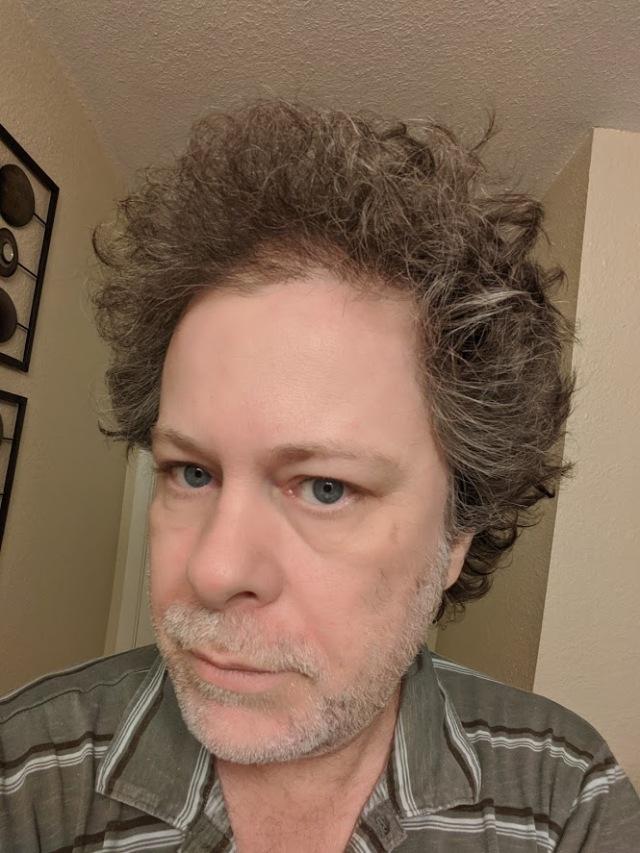 Wild Man Hair