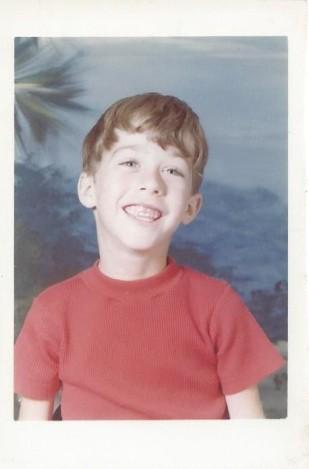 Kevin 1st grade 1978