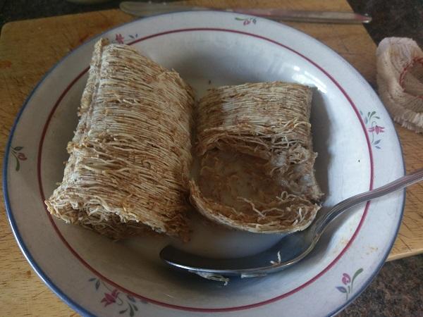 bowl of shredded wheat