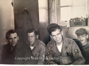 Airman 1st Class Donis M. Layton and friends.